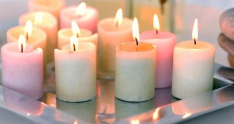 Candles create ultra fine particles